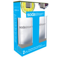 SODASTREAM FLASA 1L GREY/DUO PACK